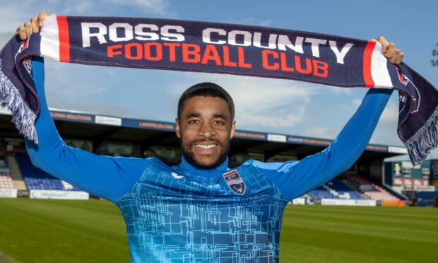 Ross County forward Dominic Samuel