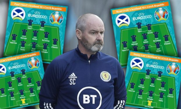 Steve Clarke will spend the weekend mulling over his starting line-up ahead of the Czech Republic game.
