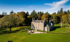 Straloch House Estate in Newmachar is a sight to behold.
