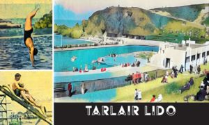 Wish you were here? Press and Journal archive photos of the 1930s Tarlair Outdoor Swimming Pool at Macduff reimagined in the Art Deco style.