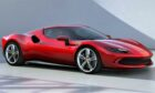 The 296 GT revives the V6 engine in a Ferrari.