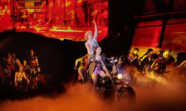 Bat Out Of Hell - The Musical is roaring towards Aberdeen.