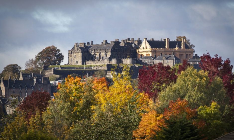 Stirling Castle wasn't far from the Highland Hotel.
