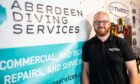 Andy Watson, owner of Aberdeen Diving Services