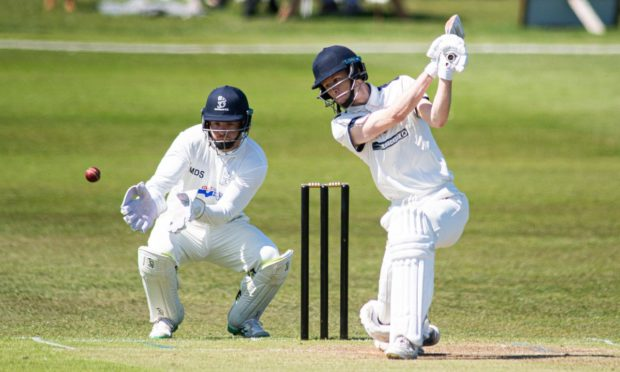 Lewis Munro is standing in as Aberdeenshire captain