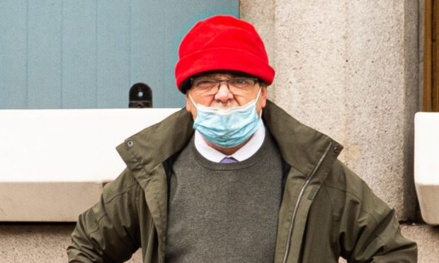 Tony Newman outside court.