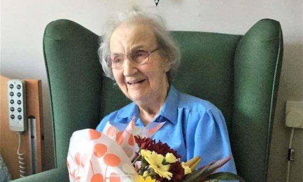 Bessie Robertson is celebrating her 101st birthday. Supplied by Robbianne Harrold.