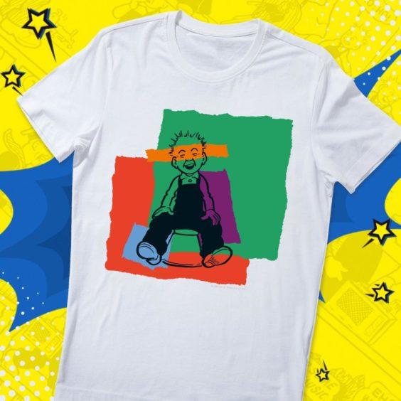 Oor Wullie Blocks T-Shirt.