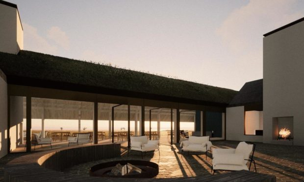 The eco hotel could soon be a reality.