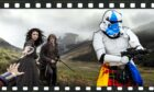 Is Outlander filming at Cruachan? Either that or the new Star Wars series will have stormtroopers wearing kilts.