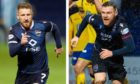 Michael Gardyne, left, and Billy Mckay could be reunited at Caley Thistle.