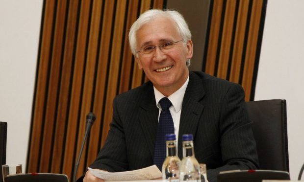 Former Angus MSP Andrew Welsh, who has died.