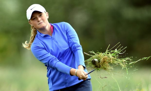 Shannon McWilliam lost a tight contest in the Women's Amateur Championship semi-finals