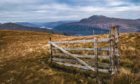 The law states that walkers can move freely in Scotland, provided they act responsibly