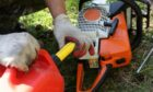 NFU Scotland warns the fuel change could affect machinery such as chainsaws.
