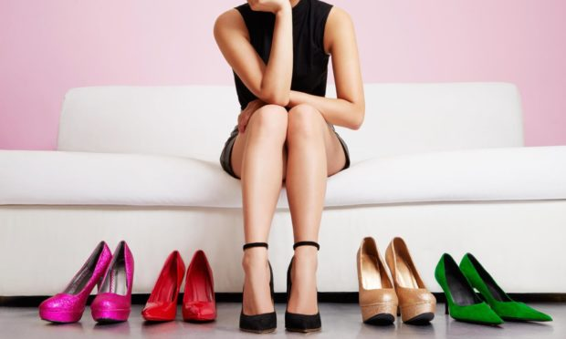 The era of high heels may be coming to an end.