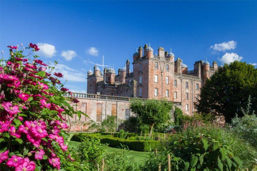 Drumlanrig Castle.