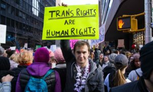 Transgender people have a gender identity or gender expression that differs from their sex at birth