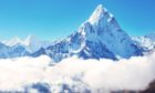 The majesty of Mount Everest.