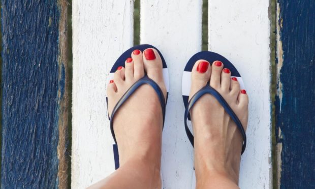 Regular trips to the chiropodist mean bonnier toes on holiday