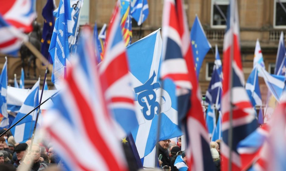 Scottish independence poll