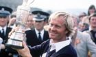 Jack Nicklaus with the Claret Jug after his third Open victory in 1978.