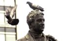 Ken says sometimes we are the statue, and other times we are the pigeon.