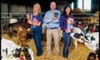 L-R Kirstin, Mac and Karin Mackie.