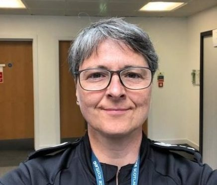 Sergeant Tricia MacLean of Police Scotland's Preventions and Interventions team