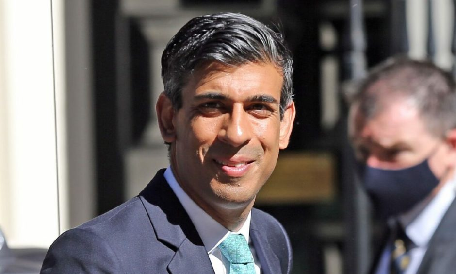 Chancellor of the Exchequer Rishi Sunak will visit Scotland on Thursday.