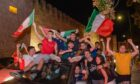 The Italians know how to celebrate when they taste success.