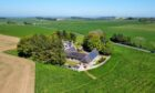 This detached steading near Oldmeldrum has it all.