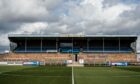 Forfar Athletic's Station Park, where Ross County were due to play last weekend.