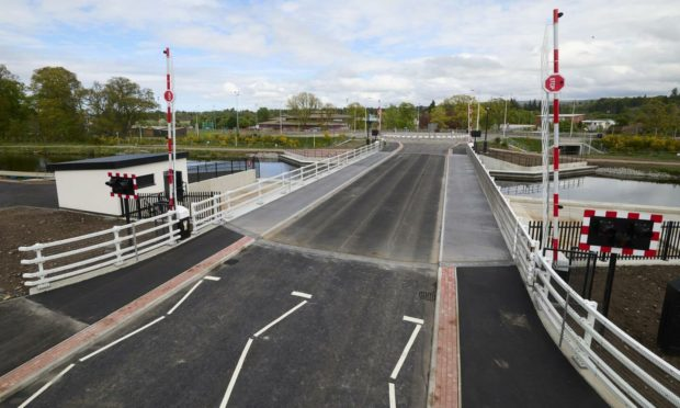 The Torvean Bridge on West Link Road. Picture: The Highland Council.