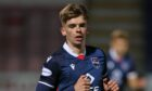 Striker Matthew Wright is on loan at Brora Rangers.