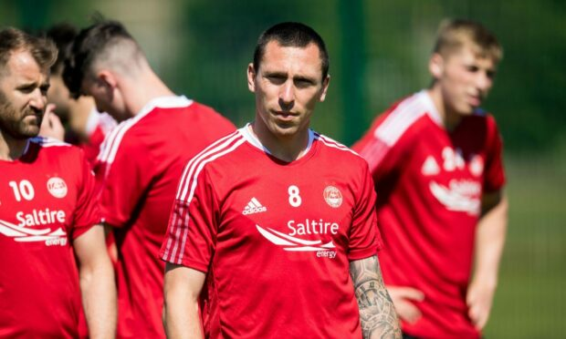 Scott Brown will wear the armband for the Dons this season.