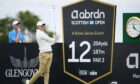 Rory McIllroy is pictured during the abrdn Scottish Open practice day at the Renaissance Club.