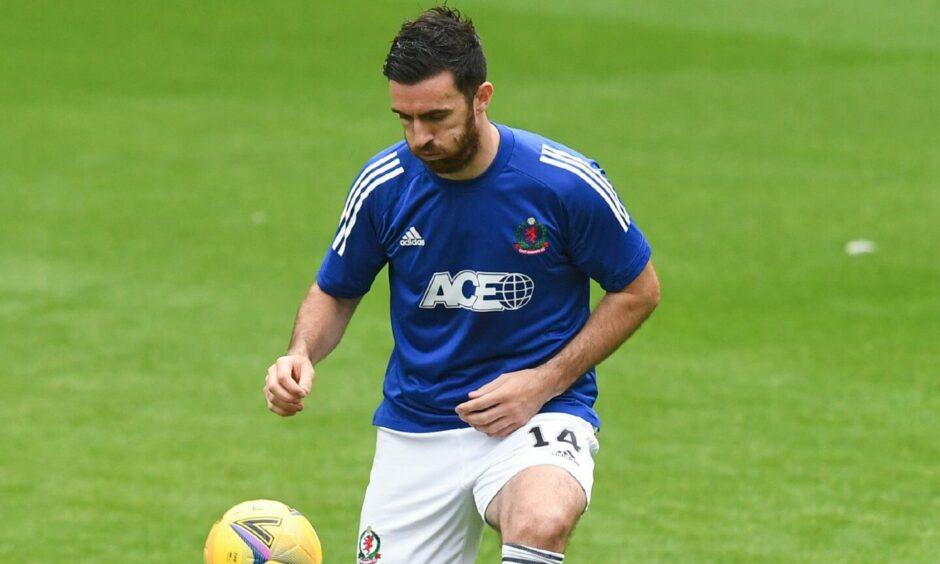 Cove Rangers midfielder Ross Draper.