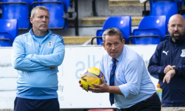 The ICT management team, from left: Barry Wilson, Billy Dodds and Ross Hughes.