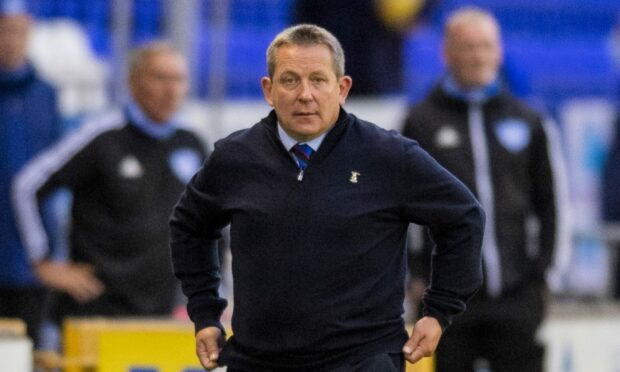 Inverness head coach Billy Dodds.