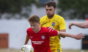 Ross County's Connor Randall relishing game time after Covid kept him home