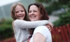 Lesley Smith of Buggles Bakes with her eight-year-old daughter Tazmin.