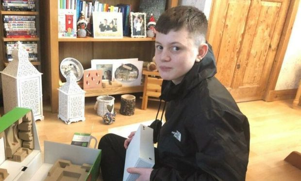 To go with story by Ellie Milne. Missing boy Picture shows; Daniel Gourlay. Wick. Supplied by Police Scotland Date; Unknown