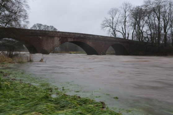 Police were called to reports of people illegally fishing in the River Deveron earlier this month. Picture by Jamie Ross