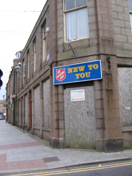 The former Salvation Army base. Picture: DCT Media.
