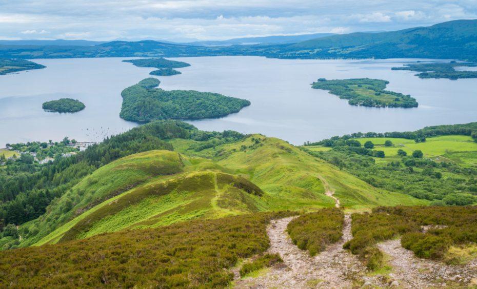 Eastern shore of Loch Lomond. Photo: Shutterstock