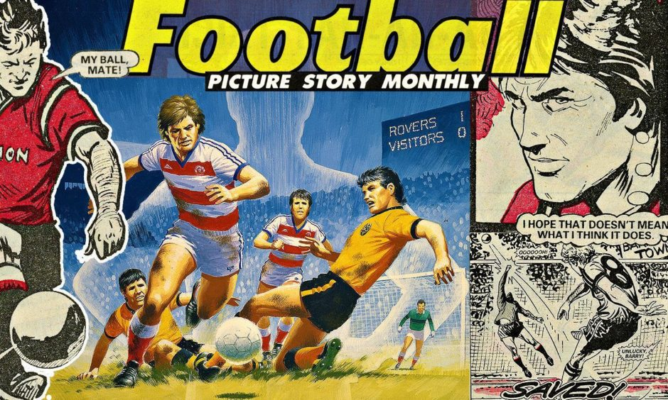 A Football Picture Story Monthly image