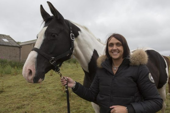 Ashley Anderson runs the most northerly sports horse stud in the UK.