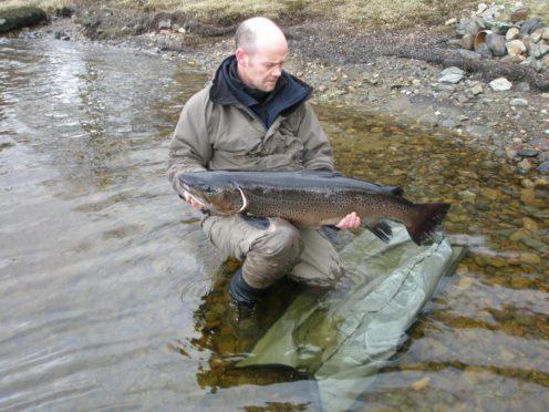 Alan Kettle-White of Argyll Fisheries Trust.