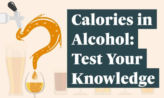 New research shows three-quarters of us don't know how many calories are in alcohol
